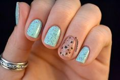 Minty Cookie Nails