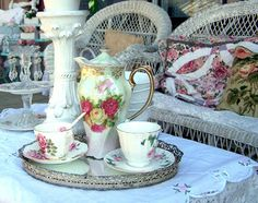 Olivia's Romantic Home: Shabby Front Porch