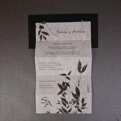 INFOCOPY Invitaciones, detalles y fotografia de Boda: INVITACIONES DE BODA ESTILO ZEN Y JAPONES