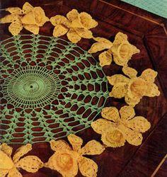 Daffodil Doily Pattern