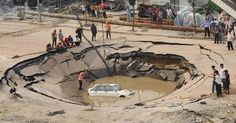 The Sinkhole Is Nature's Scariest Trap, And They're Popping Up Everywhere