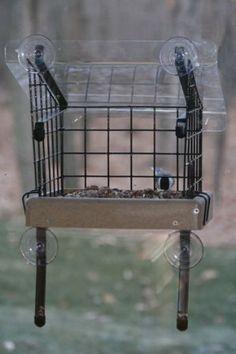 Caged Platform Window Feeder