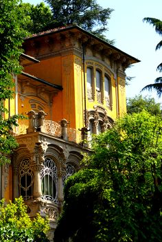 Casa Fenoglio Lafleur is a historic building in Turin, considered one of the greatest examples of Italian Liberty architecture and a true symbol of the season Liberty Turin.