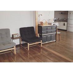 近年は、洋室が多くなった日本の住宅事情。 もちろん、フローリングの床にも優しくフィットします。