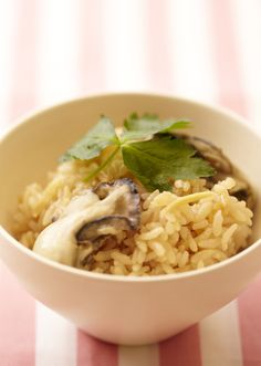 牡蠣ごはん のレシピ・作り方 │ABCクッキングスタジオのレシピ | 料理教室・スクールならABCクッキングスタジオ