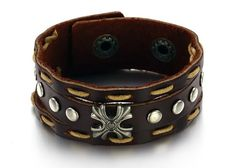 Genuine Cow Leather Fashion Men Bracelet at Sneak Outfitters http://www.sneakoutfitters.com/Jewelry/Genuine-Cow-Leather-Fashion-Men-Bracelet-p3715.html