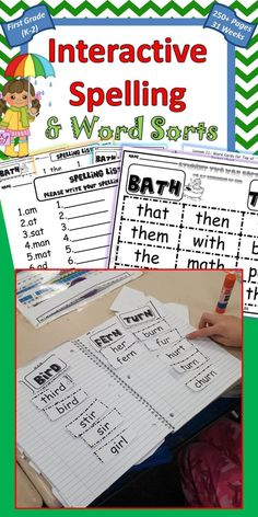 Journeys Spelling list and Word Sorts for first grade includes 31 lessons, with 257 pages, supplementing Journeys Spelling and Sorts, differentiated for 3 levels. This is how you may teach 3 levels of spelling and word sorts within your first grade room.