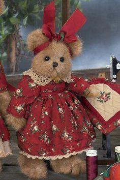 "Bearington Bears ""Maddie"" 10"" Plush Bear- #1790- NWT-2006-Retired #BearingtonBears"