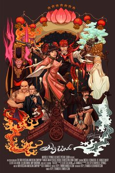 Big Trouble in Western China Town by ramida-r.deviantart.com on @deviantART