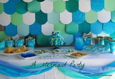 A Mermaid Party - Amazing collection of ideas for food, decorations, activities and more. Meaningful Mama