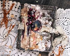 Happy Days with Julia Kissel: Grandma's notebook ...Vintage. Бабушкин блокнот. Вдохновение для ScrapEgo.