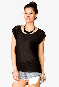 Tops - 2041079761 £5 Shirt Blouses, Latest Trends, Forever21, High Low
