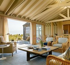 Friday Favorites: California Room with a View.  This week our Friday Favorite is a beautiful beach retreat in Stinson Beach, California, which was designed and decorated by two TSG talents.