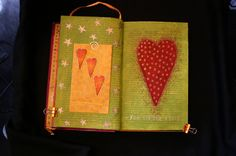 art journal by PJ Hornberger