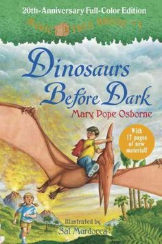 Magic Tree House by Mary Pope Osborne, July 2016 Bookmark: Series for Kids moving on from Beginning Readers, Sandy Courtney, Youth Services Librarian
