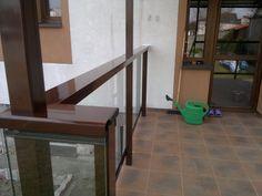 Taras szkło, aluminium, stal. / Terrace glass, aluminum, steel.