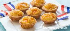 Makkelijk en lekkere oranje snack met paprika voor tijdens Koningsdag