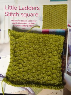 Issue 3 - Little ladders stitch square