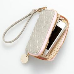 Love this Everything But Water wristlet! 25% of proceeds go to breast cancer research too.