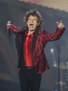 Mick Jagger of the Rolling Stones performs at TCF Bank Stadium, Wednesday, June 3, 2015, in Minneapolis, MN.  Jeff Wheeler/Star Tribune, AP