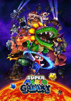 Super Mario Galaxy - Nintendo