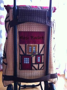 Carro de la compra Sewing Kit, Love Sewing, House Quilts, Quilting Projects, Messenger Bag, Patches, Pouch, Purses, Kids