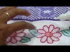 ▶ Russian punchneedle embroidery - part IV - finish - YouTube