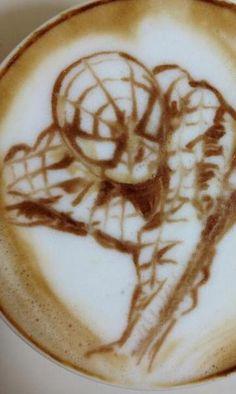 Your friendly, neighborhood latte art. #MCO435