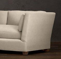 Belgian Shelter Arm Upholstered Collection | RH