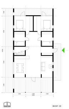 House Plans, New Homes, Floor Plans, How To Plan, Interior, Small Houses, Arquitetura, Houses, Projects