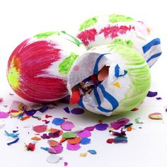 Throw A Cascarones (Confetti-Filled Easter Eggs) Making Party