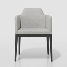 Simplicity works modern magic here as the ARROP Wooden Chair by Jane Hamley Wells pairs unobtrusively with varying design styles.  Its straightforward appearance is welcoming, offering support for longer sitting sessions.