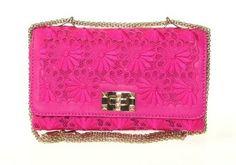 Valentino Pink Clutch Shoulder Bag $1,850