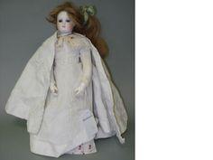 Bisque shoulder head fashion doll, circa 1880