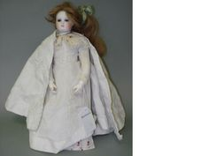 Bisque shoulder head fashion doll, circa 1880