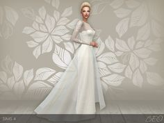 Lana CC Finds - Wedding dress 28 by BEO