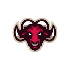 Bull designed by Dlanid. Connect with them on Dribbble; the global community for designers and creative professionals. Football Logo Design, Game Logo Design, Renard Logo, Bull Logo, Esports Logo, Sports Team Logos, Grid Design, Graphic Design, Branding