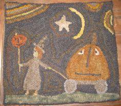 Pumpkin rug...