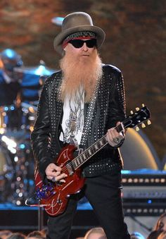 """Watch Billy F Gibbons perform his ZZ Top hit """"LaGrange"""" at with a little help from ZZ Ward, orianthi, Frankie Ballard, and Mike Henderson! Rock Roll, Great Bands, Cool Bands, Zz Top Billy Gibbons, Berry Oakley, Reverend Guitars, Frank Beard, Creedence Clearwater Revival, Thing 1"""