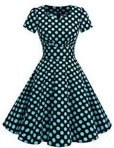 Dresstells® Vintage 1950s Polka Dot Prom Dresses Short Sl... https://www.amazon.co.uk/dp/B0719XBJ95/ref=cm_sw_r_pi_dp_x_ispozbS0NP6EV