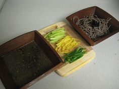 #Japanese #soba noodles and tempura - classic Japanese dishes
