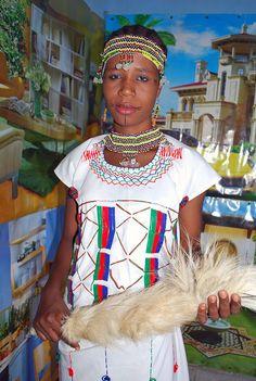 Gbagyi woman dressed in traditional outfit | Ushafa Village FCT Nigeria | #JujuFilms #GbagyiWoman #Ushafa #Nigeria #Africa