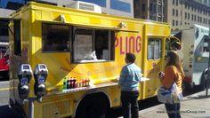 Yumpling Food Truck Washington DC Business District