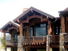 Timber Exterior Gallery, Timber Exterior Images, Timber Pics   Western Timber Frame - ParkCity1_5