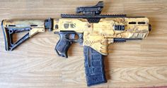 DIEHL Mark IV NERF Stryfe Mod by ClifHeckman on DeviantArt