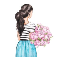 Meet your Posher, Maya Girl Drawing Sketches, Girly Drawings, Colorful Drawings, Cool Drawings, Arte Fashion, Drawings Of Friends, Digital Art Girl, Cute Cartoon Wallpapers, Watercolor Art