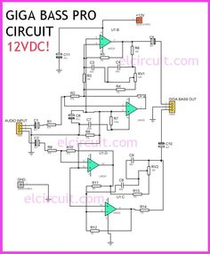 18 Aug 2019 - This is Bass Sound Enhancer Circuit that can be producing sound more loud bass, the circuit called Giga Bass Pro Circuit. You can see circuit and PCB layout here. Simple Electronics, Hobby Electronics, Electronics Components, Electronics Projects, Electronic Circuit Projects, Electronic Engineering, Electronic Art, Hifi Amplifier, Audiophile