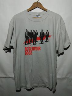 Vintage 90s RESERVOIR DOGS movie t shirt by iwalyzaz on Etsy