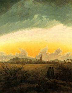 Caspar David Friedrich, Neubrandenburg, c. 1816-7
