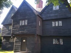 Judge Jonathan Corwin House (1642), Salem, MA.,It is now also known as The Witch House as it was home to Judge Jonathan Corwin who served on the Court of Oyer & Terminer,which ultimately sent 19 to the gallows. It is the only structure in Salem with direct ties to the Witch Trials of 1692.